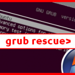 Error : grub rescue – Reconstruire MBR Windows