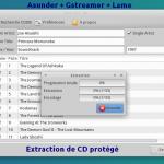 Ripper des CD audio (même protégés)