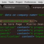 Sublime-Text Editeur HTML PHP