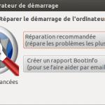 Erreur : Grub Rescue >  Linux