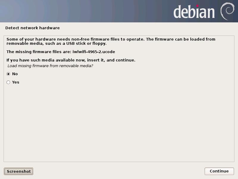 Installer les firmwares Debian
