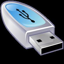 Copier les fichiers d'un serveur sur une clé USB