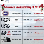 "facebook stop virus ""clearance sales summary of 2019"""