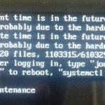 Erreur FileSystem – probleme partition – Nicole