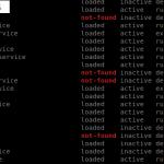 Gérer les services : liste, enable, disable, start, stop, status
